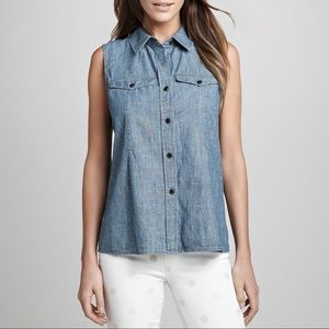Marc by Marc Jacobs Deep Sea Blue Corey Chambray